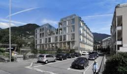 Les hirondelles - Montreux - Switzerland